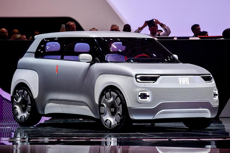 Прототип Fiat Concept Centoventi