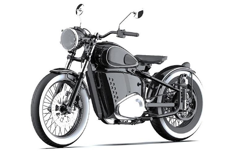 электромотоцикл Калашников Иж-49