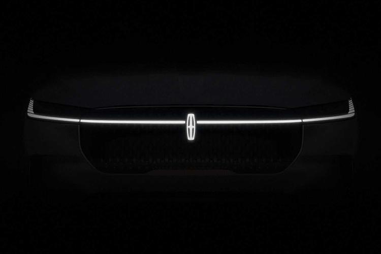 Lincoln электромобиль тизер