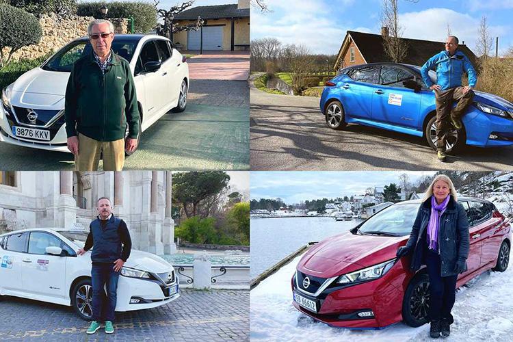 владельцы электрокаров Nissan