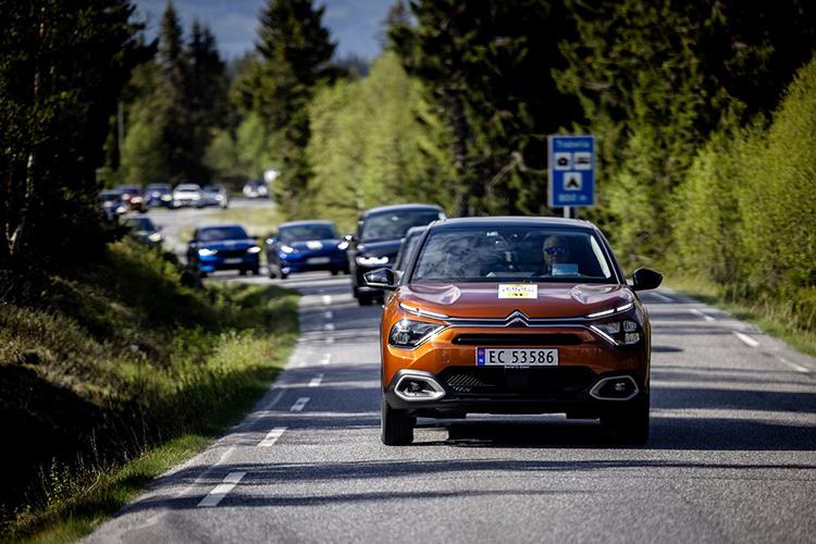 Норвежская автомобильная федерация большой тест электрокаров