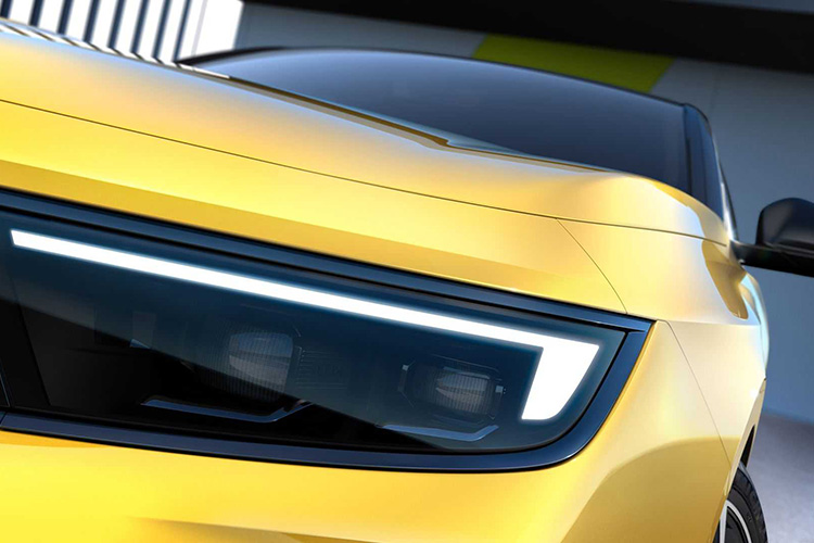 новая Opel Astra тизер