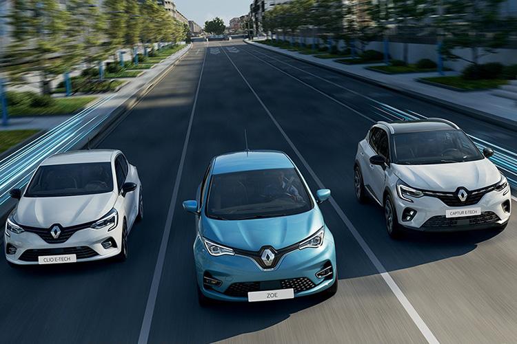 Renault электрические автомобили