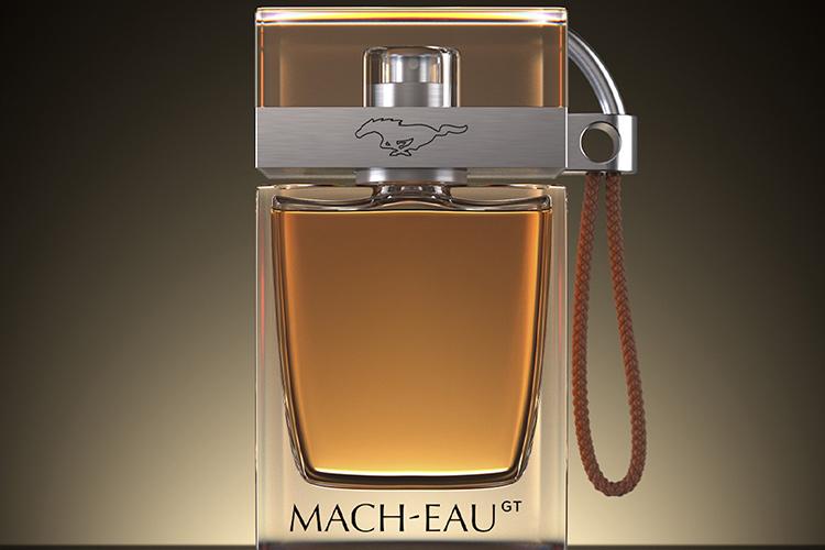 Ford духи с ароматом бензина Mach–Eau