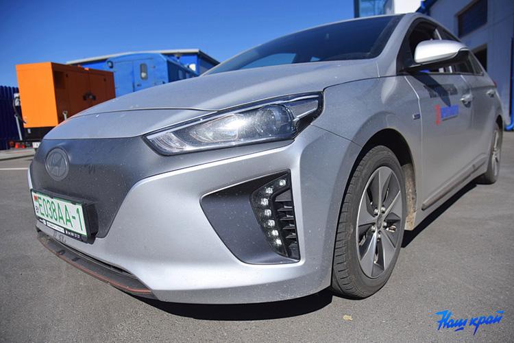 Hyundai Ioniq electric 2017 Барановичские электрические сети