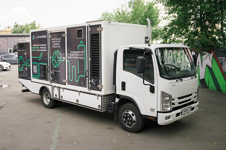 L-Charge мобильная зарядка для электромобилей