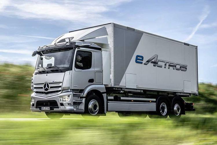 Mercedes–Benz eActros электрический грузовик