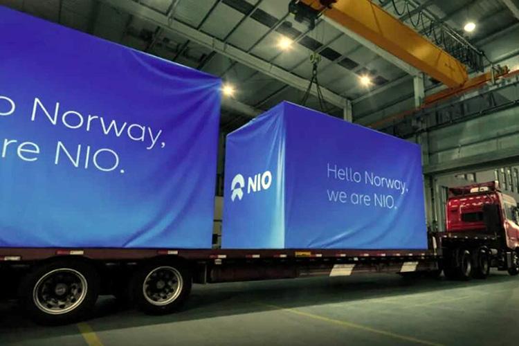 NIO станции быстрой смены батарей в Норвегии