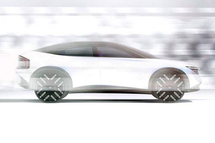 Nissan новый электрический кроссовер тизер