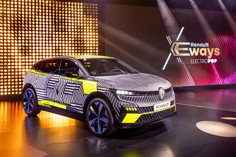 Конференция eWays Renault Megane E-Tech Electric