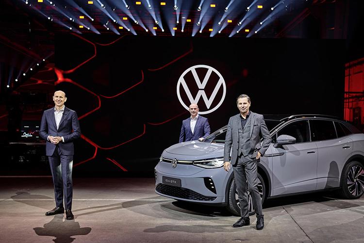 Volkswagen ID.4 GTX презентация