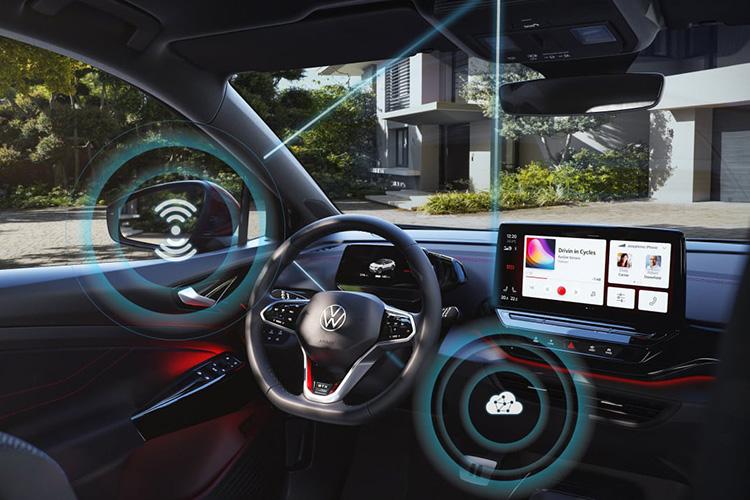 Volkswagen обновит софт своих электромобилей «по воздуху»