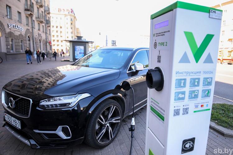 Как будет развиваться сеть электрозаправочных станций в Беларуси